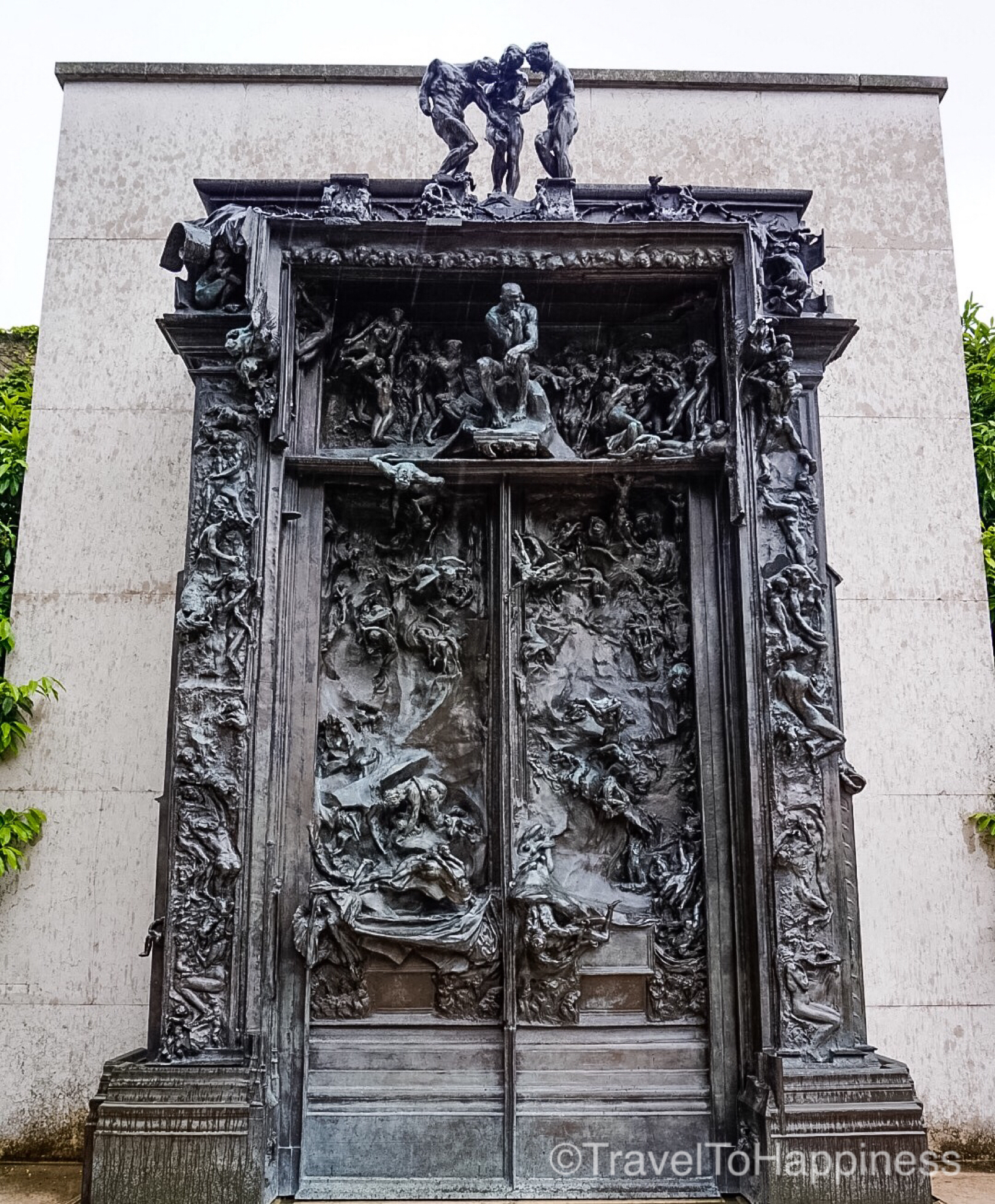 The Gate to Hell (1880-1917) - Auguste Rodin