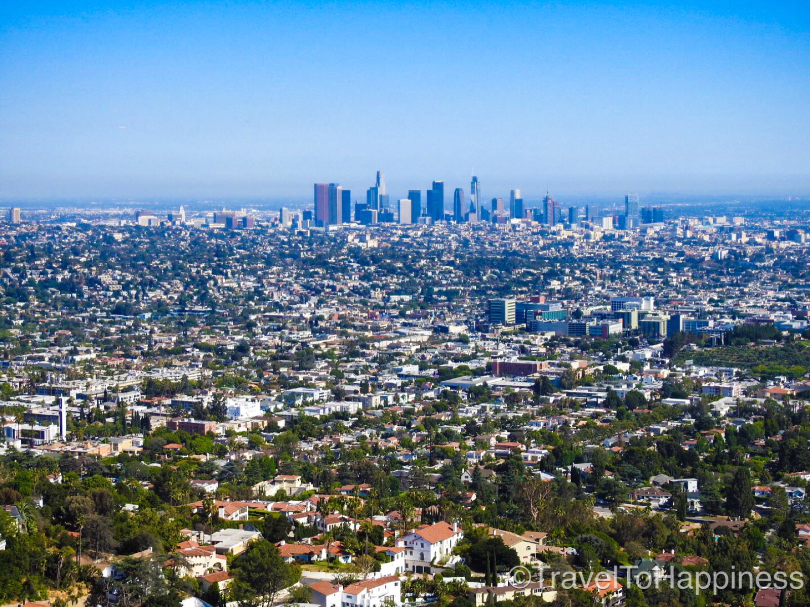 Los Angeles seen from Griffith Observatory